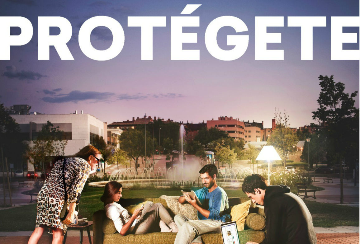 Cartel Campaña Uso Responsable De Internet De Metro De Madrid