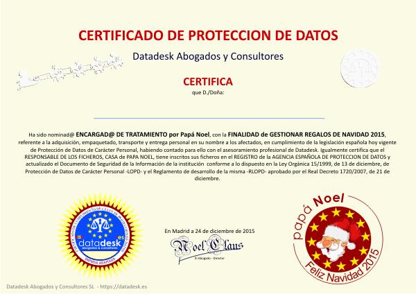 Papá Noel Y Los Reyes Magos Eligen Datadesk Para Su Protección De Datos